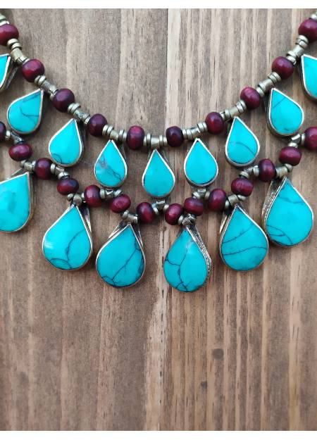 COLLAR PIEDRA CHIC